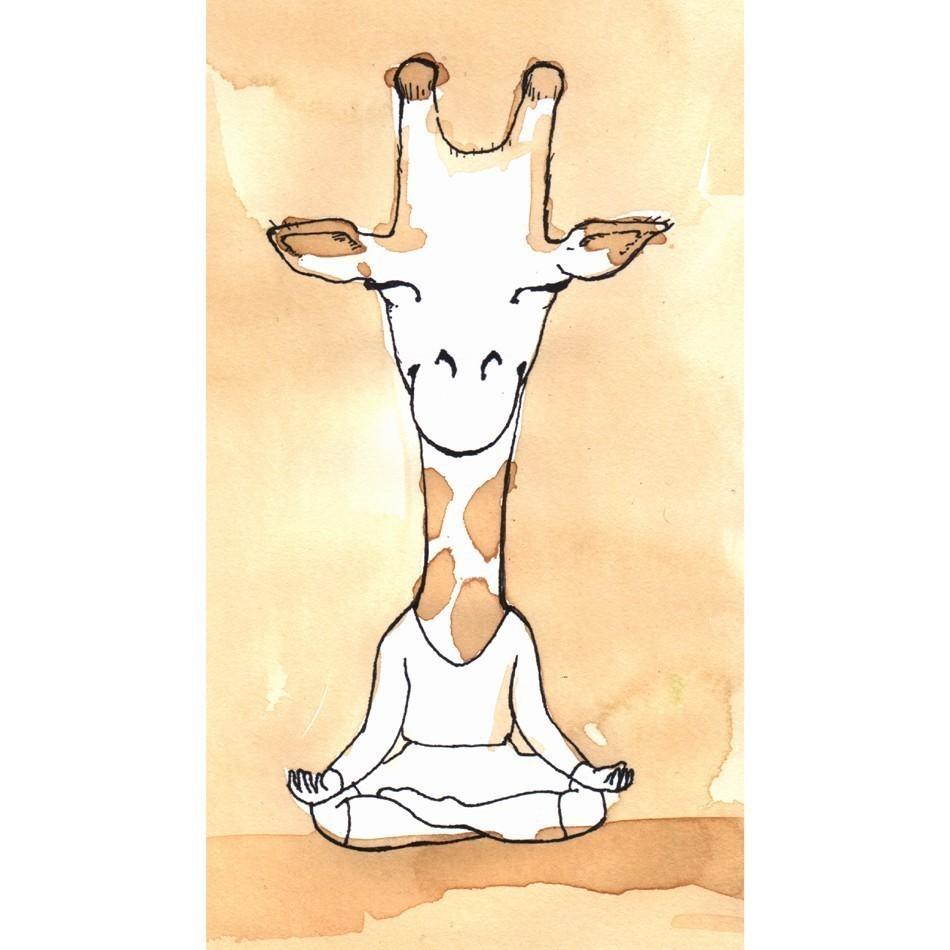 Giraffe Yoga