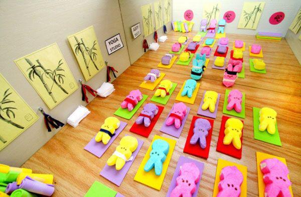 All of my peeps do yoga